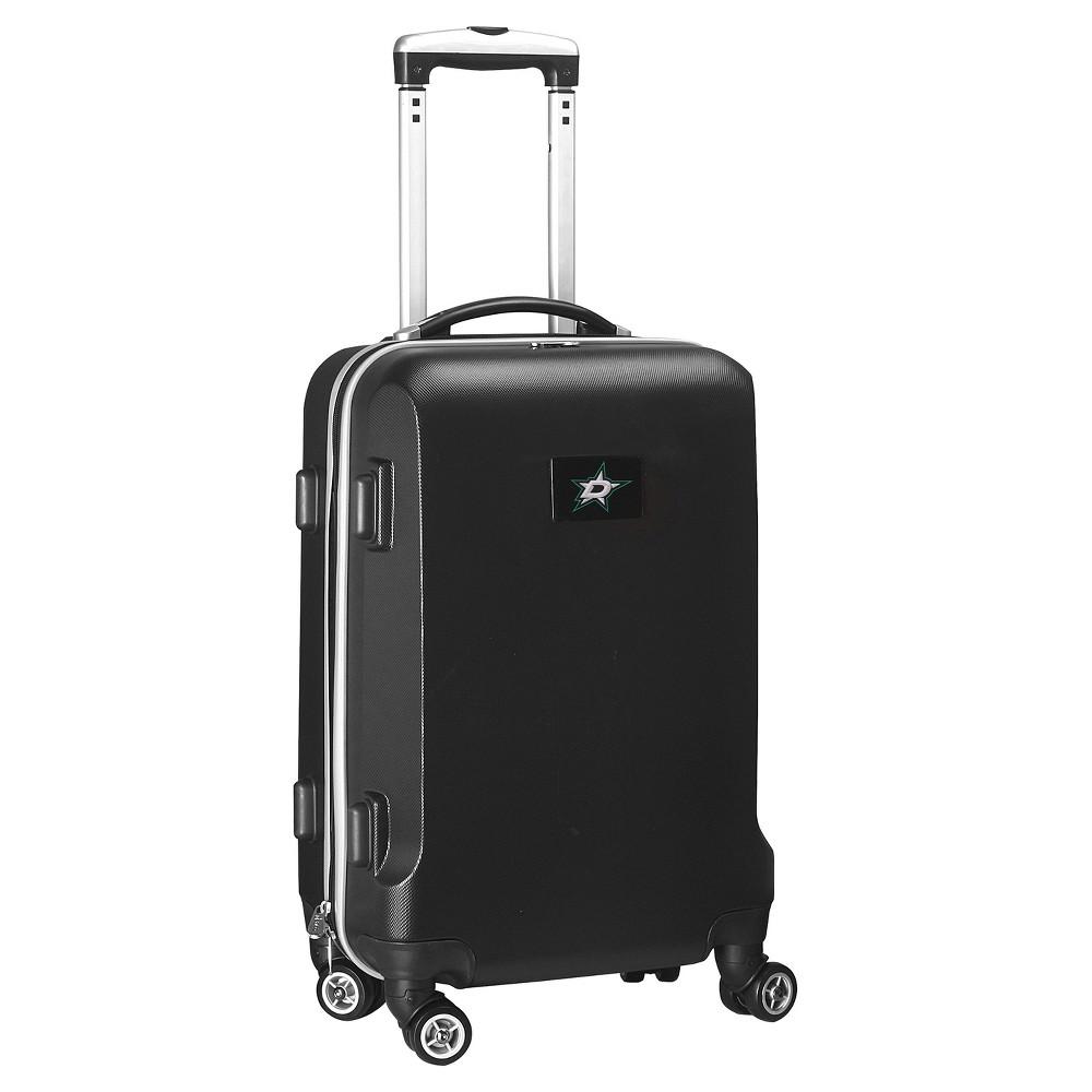 NHL Mojo Dallas Stars Hardcase Spinner Carry On Suitcase - Black