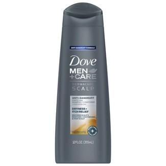 Dove Men + Care Derma Care Scalp 2-In-1 Itch Relief Shampoo and Conditioner - 12 fl oz