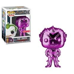 Funko POP! Heroes: DC Comics Batman Arkham Asylum - The Joker (Purple Chrome) (NYCC Debut)