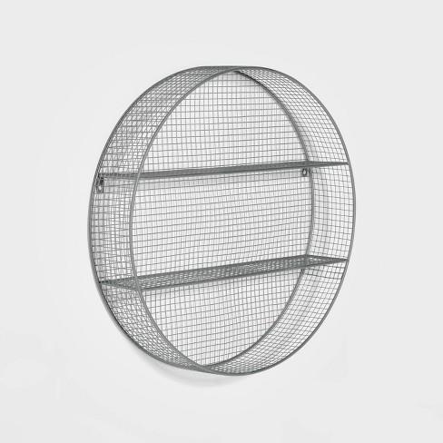 Metal Circle Shelf - Pillowfort™ - image 1 of 4