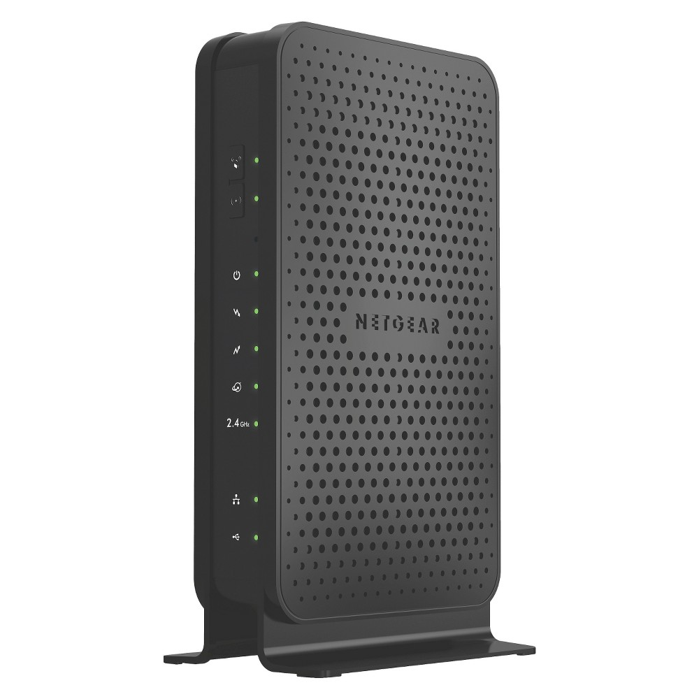 Netgear N300 WiFi Docsis 3.0 Cable Modem Router - C3000 The Netgear N300 Wi-Fi Docsis 3.0 Cable Modem Router (C3000) offers faster cable Internet and reliable Wi-Fi for smooth HD streaming, continuous online gaming and reliable Internet for all your devices.