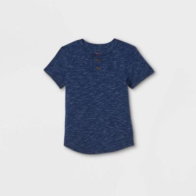 Toddler Boys' Henley Short Sleeve T-Shirt - Cat & Jack™