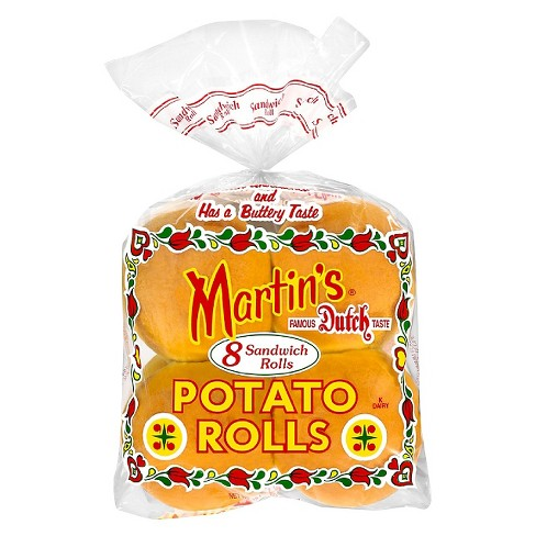 Martin's Potato Sandwich Rolls - 15oz/8ct - image 1 of 1