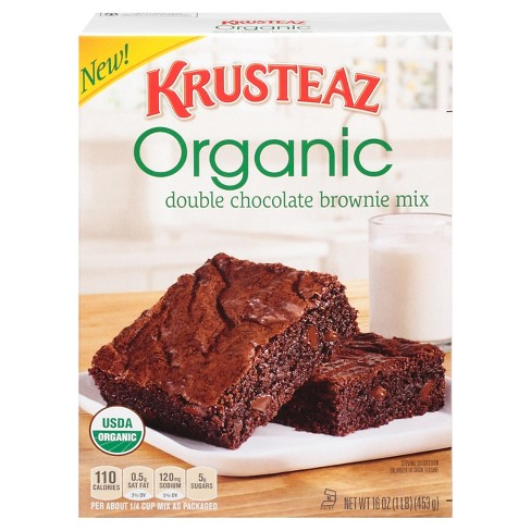 Krusteaz Double Chocolate Brownie Mix 16 oz - image 1 of 2