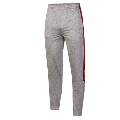 NCAA Iowa State Cyclones Men's Gray Athletic Jogger Pants