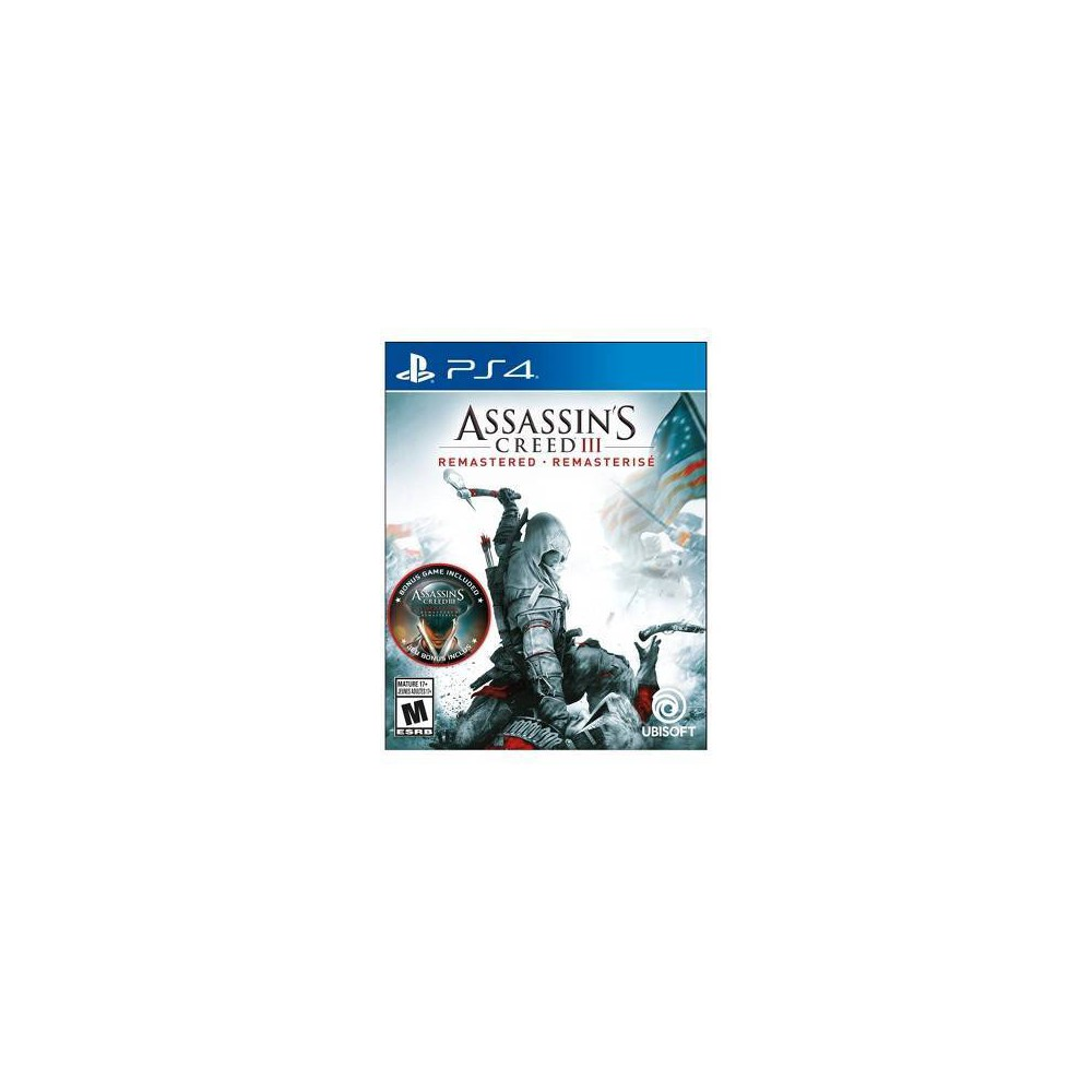Assassin S Creed Iii Remastered Playstation 4