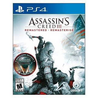 Assassins Creed III: Remastered - PlayStation 4