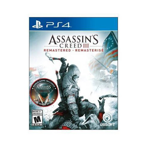 Assassin S Creed Iii Remastered Playstation 4 Target