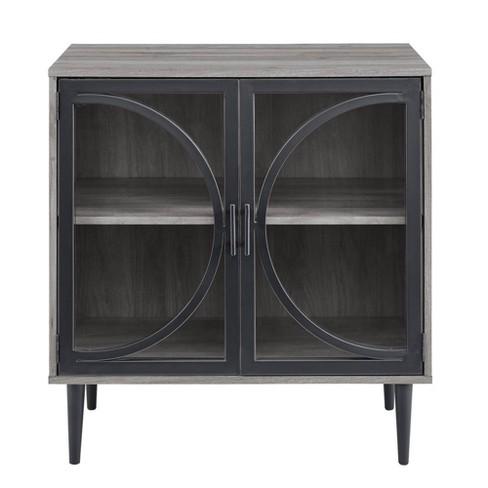 Industrial Storage Cabinet Slate Gray - Saracina Home - image 1 of 4