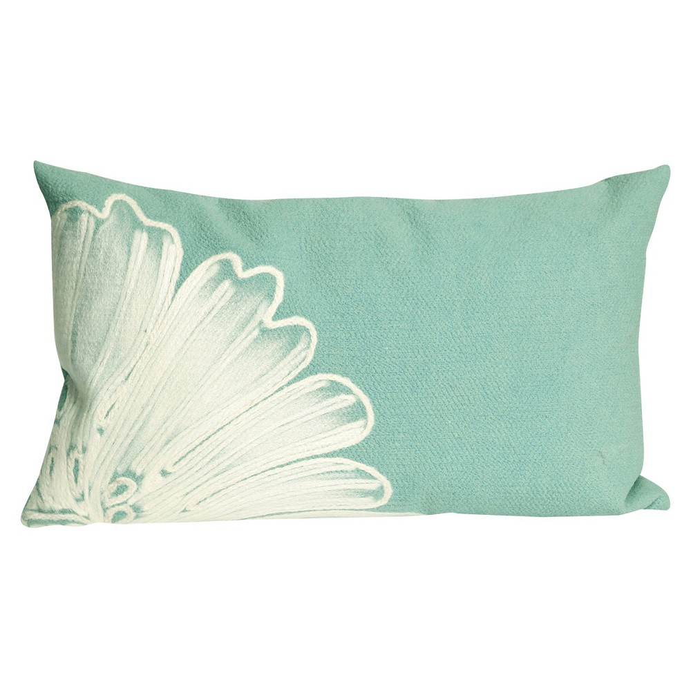Image of Active Aqua Throw Pillow - Liora Manne, Active Aqua I