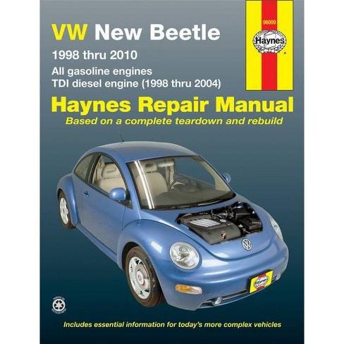 VW New Beetle 1998 Thru 2010 - (Haynes Repair Manual) by  Ken Freund (Paperback) - image 1 of 1
