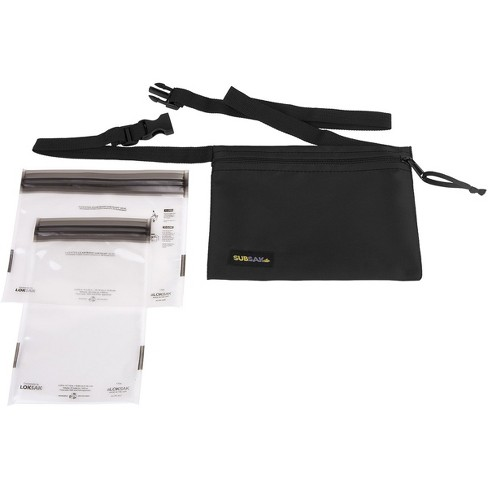Loksak Subsak Durable Nylon Adjustable Waistpack - image 1 of 3