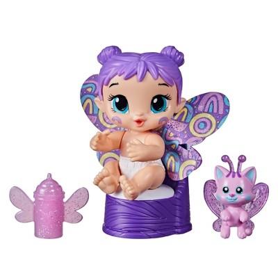 Baby Alive GloPixies Plum Rainbow Minis Baby Doll
