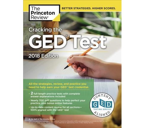 Princeton Review Cracking the GED Test 2018 -  (Cracking the GED) (Paperback) - image 1 of 1
