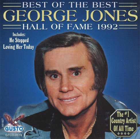 George jones - Best of the best (CD) - image 1 of 1