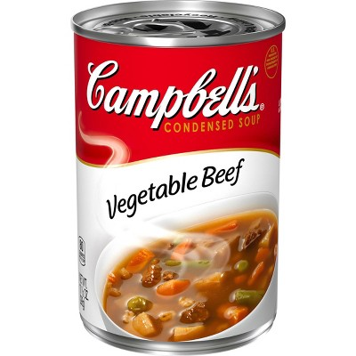 Campbell's Condensed Vegetable Beef Soup 10.5oz