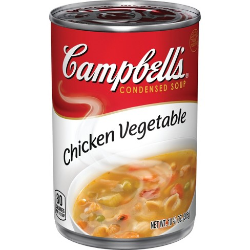 Campbell's® Condensed Chicken Vegetable Soup 10.75 oz - image 1 of 5