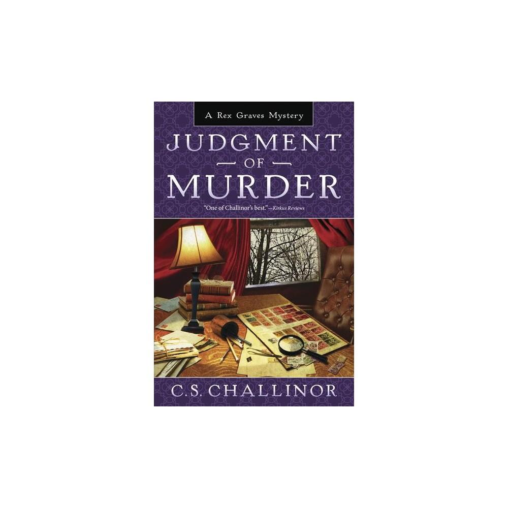 Judgment of Murder (Paperback) (C. S. Challinor)
