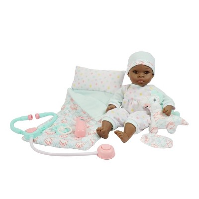 Madame Alexander Small Wonder v Sleepy Time and Get Well Baby Doll Set - Brown Eyes