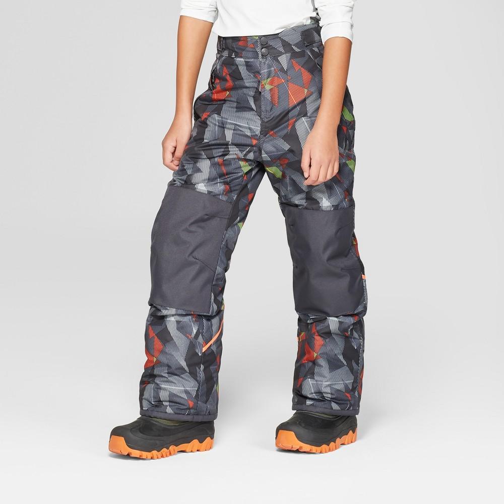 Boys' Triangle Print Snow Pants - C9 Champion Gray M