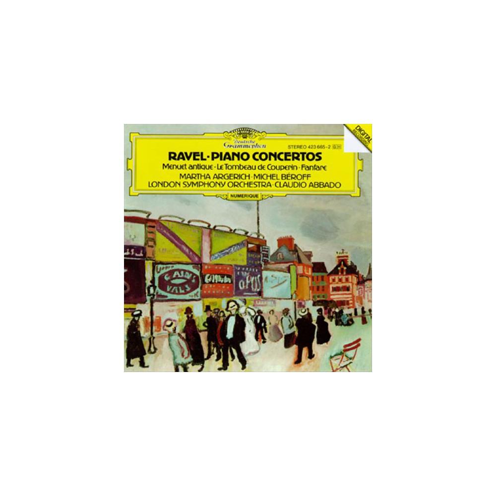 Martha argerich - Ravel:Piano ctos. (CD)