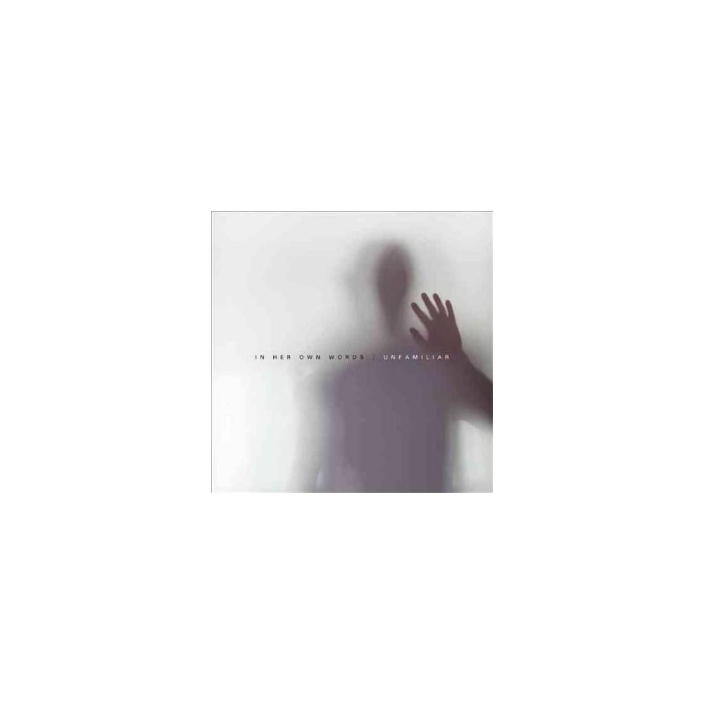 In Her Own Words - Unfamiliar (Starburst) (Vinyl)