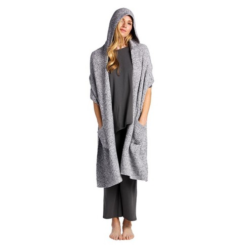 Softies Women's Hooded Marshmallow Scarf - image 1 of 4
