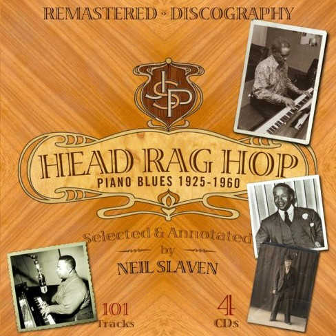Various - Head rag hop piano blues:1925-1960 (CD) - image 1 of 1