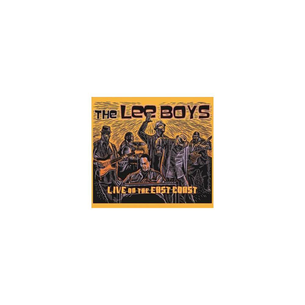 Lee Boys Live On The East Coast Cd