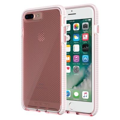 Tech21 iPhone 8 Plus/7 Plus Case EVO Check - Rose/White