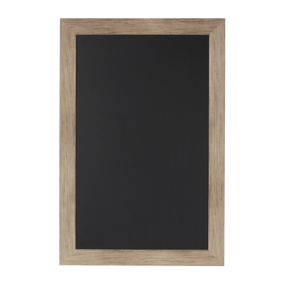 "Image of ""15"""" x 24"""" Beatrice Chalkboard Rustic Brown - DesignOvation"""