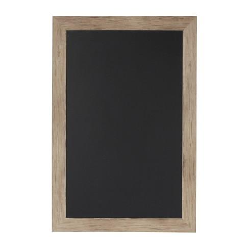 "27"" x 18"" Beatrice Framed Magnetic Chalkboard Rustic Brown - DesignOvation - image 1 of 4"