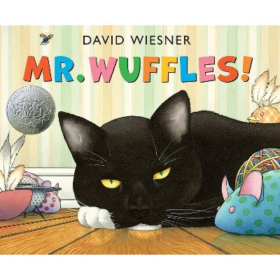 Mr. Wuffles! - (Caldecott Medal - Honors Winning Title(s)) by  David Wiesner (Hardcover)