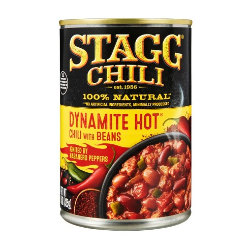 Stagg Chili Dynamite Hot Chili with Beans 15 oz - image 1 of 4