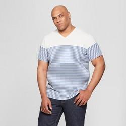 e4853341dc33 More to consider. $10.00. Men's Big & Tall Short Sleeve V-Neck T-Shirt -  Goodfellow & Co™ Riviera Blue
