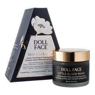 Doll Face Little Black Mask Skin Clearing Face Mask - 2 fl oz