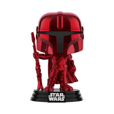 Funko POP! Star Wars: The Mandalorian - Mando (Red Metallic) (RedCard Early Access)