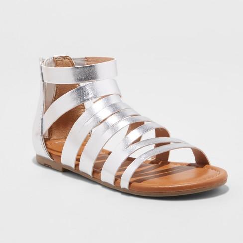 fc7992dcc1ba Toddler Girls  Irka Shoes - Cat   Jack™ Silver 2   Target