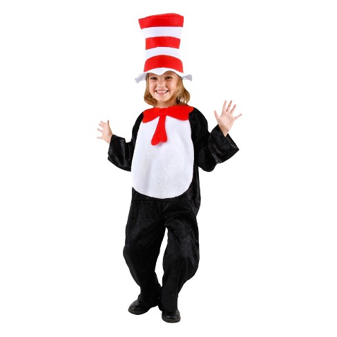 Dr. Suess Cat in the Hat Kid's Costume - One Size Fits Most - image 1 of 1