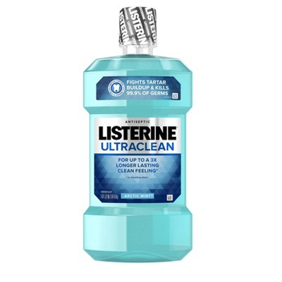 Listerine Ultraclean Artic Mint Antiseptic Mouthwash