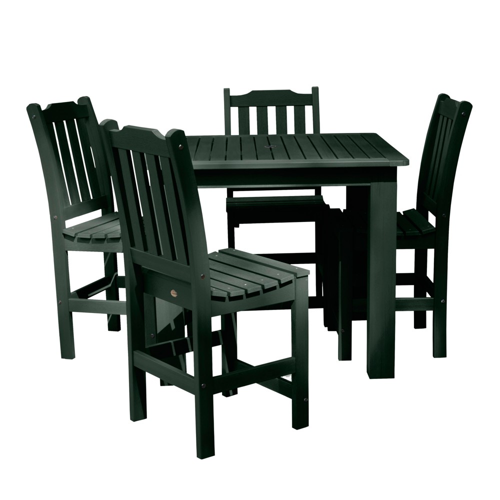Lehigh 5pc Square Counter Dining Set Charleston Green - Highwood
