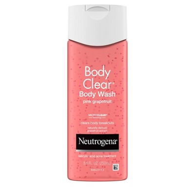 Neutrogena Body Clear Pink Grapefruit Acne Body Wash - 8.5 fl oz