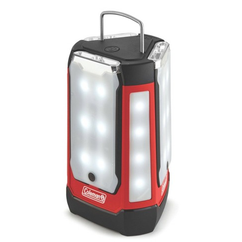 Coleman 3-Panel 600L LED Lantern - Red