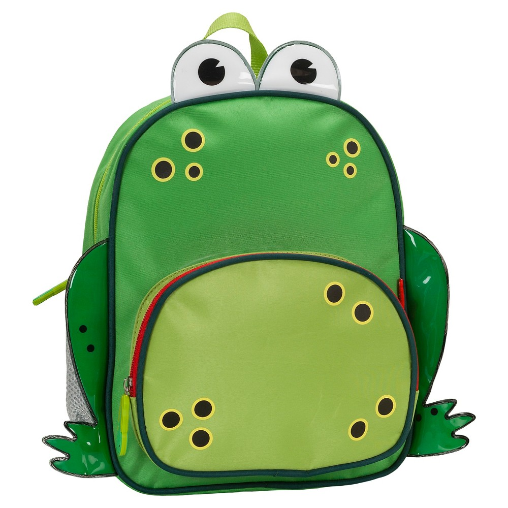 "Image of ""Rockland 12.5"""" Junior My First Backpack - Frog, Kids Unisex, Size: Small"""