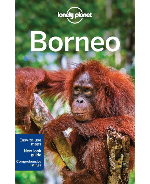 Lonely Planet Borneo (Paperback) (Isabel Albiston) - image 1 of 1