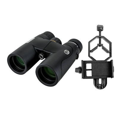 Celestron Nature DX 10x42 ED Binoculars with Basic Smartphone Adapter