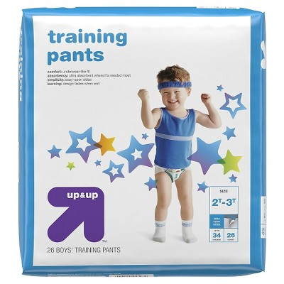 Training Pants for Boys - 2T-3T (26ct)- Up&Up™