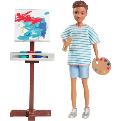 Barbie Team Stacie Friend of Stacie Doll Art Class Playset with Accessories