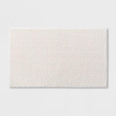 20 x34  Solid Bath Rug Cream - Made By Design™