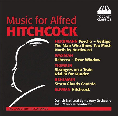 Danish national symp - Music for alfred hitchcock (CD) - image 1 of 2